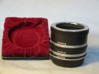 '   7-15-25mm MACRO -OLYMPUS- MINT ' Olympus OM Macro Extension Tube Set -MINT- £14.99